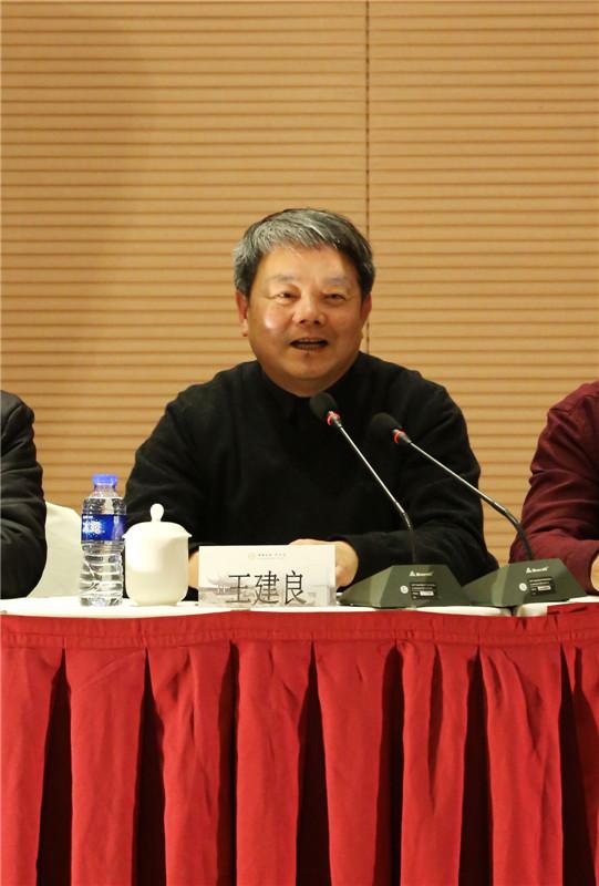 江苏省工艺美术学会会长,苏州工艺美术职业技术学院党委书记王建良图片